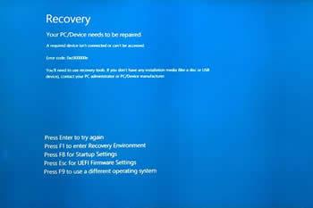 Windows startup problems